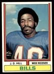 1974 Topps #234  J.D. Hill  Front Thumbnail