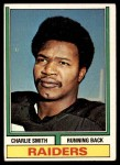 1974 Topps #523   -  Charlie Smith  Record Breaker Front Thumbnail