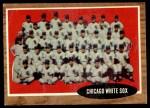 1962 Topps #113 GRN  White Sox Team Front Thumbnail