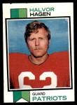 1973 Topps #58  Halvor Hagen  Front Thumbnail