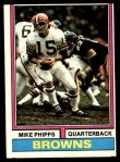 1974 Topps #87 ONE Mike Phipps  Front Thumbnail