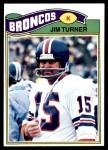 1977 Topps #358  Jim Turner  Front Thumbnail