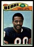 1977 Topps #439  Greg Latta  Front Thumbnail