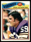 1977 Topps #441  Doug Sutherland  Front Thumbnail