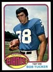 1976 Topps #417  Bob Tucker  Front Thumbnail