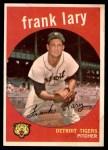 1959 Topps #393  Frank Lary  Front Thumbnail
