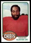 1976 Topps #184  MacArthur Lane  Front Thumbnail