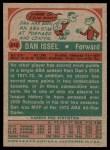 1973 Topps #210  Dan Issel  Back Thumbnail