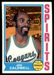 1974 Topps #204  Joe Caldwell  Front Thumbnail