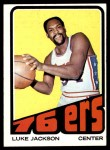 1972 Topps #118  Luke Jackson   Front Thumbnail