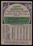 1975 Topps #159  Happy Hairston  Back Thumbnail