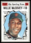 1970 Topps #450   -  Willie McCovey All-Star Front Thumbnail