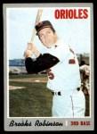 1970 Topps #230  Brooks Robinson  Front Thumbnail