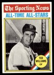 1976 Topps #347   -  Ted Williams All-Time All-Stars Front Thumbnail
