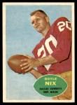 1960 Topps #39  Doyle Nix  Front Thumbnail