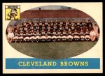 1958 Topps #9   Browns Team Front Thumbnail