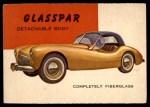 1954 Topps World on Wheels #136   Glasspar Fiberglass Body Front Thumbnail