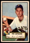 1952 Topps #260  Pete Castiglione  Front Thumbnail