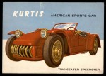 1954 Topps World on Wheels #118   Kurtis Front Thumbnail