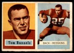 1957 Topps #110  Tom Runnels  Front Thumbnail