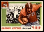 1955 Topps #8  George Cafego  Front Thumbnail