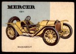 1954 Topps World on Wheels #5   Mercer Raceabout 1911 Front Thumbnail
