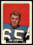 1964 Topps #158  Sam Gruniesen  Front Thumbnail
