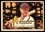 1952 Topps #91  Red Schoendienst  Front Thumbnail