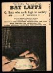 1966 Topps Batman Color #25   Batman & Robin Back Thumbnail