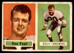 1957 Topps #114  Don Paul  Front Thumbnail