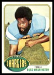 1976 Topps #38  Russ Washington  Front Thumbnail