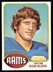 1976 Topps #42  Bob Klein  Front Thumbnail