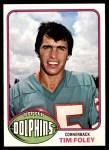 1976 Topps #72  Tim Foley  Front Thumbnail