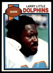 1979 Topps #60  Larry Little  Front Thumbnail