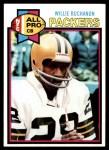 1979 Topps #266  Willie Buchanon  Front Thumbnail