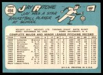 1965 Topps #494  Jay Ritchie  Back Thumbnail