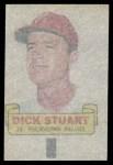 1966 Topps Rub Offs   Dick Stuart   Back Thumbnail