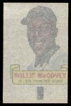 1966 Topps Rub Offs   Willie McCovey   Back Thumbnail