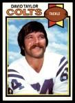 1979 Topps #109  David Taylor  Front Thumbnail