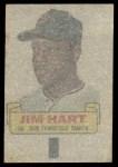 1966 Topps Rub Offs  Jim Ray Hart  Back Thumbnail