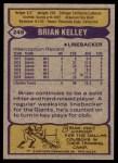 1979 Topps #248  Brian Kelley  Back Thumbnail