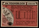 1980 Topps #120   -  Jim Youngblood All-Pro Back Thumbnail