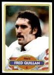 1980 Topps #223  Fred Quillan  Front Thumbnail