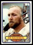 1980 Topps #136  Bob Kuechenberg  Front Thumbnail