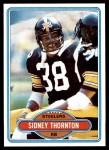 1980 Topps #297  Sidney Thornton  Front Thumbnail