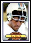1980 Topps #221  Tim Foley  Front Thumbnail