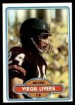 1980 Topps #402  Virgil Livers  Front Thumbnail