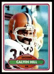 1980 Topps #9  Calvin Hill  Front Thumbnail