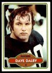 1980 Topps #161  Dave Dalby  Front Thumbnail