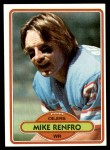 1980 Topps #301  Mike Renfro  Front Thumbnail